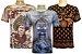 Kit 3 Camisetas Indianas Unissex Sortidas - Imagem 1