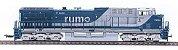 Locomotiva AC44i RUMO Fase II - 3073 - Imagem 1
