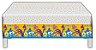 Toalha Plástica Galinha Pintadinha 1,20M X 1,80M - Imagem 1