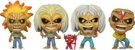 Funko Pop Iron Maiden Eddies Exclusive 4 Pack GITD - Imagem 2