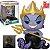 Funko Pop Little Mermaid 569 Ursula Glows in The Dark 26cm - Imagem 1