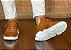 Tênis Sneakers Masculino Couro Whisky Barcelona Design | Brooklyn Bull - Imagem 6