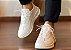 Sneakers Masculino Couro All White Barcelona Design   Brooklyn Bull - Imagem 6