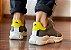 Sneakers Masculino Couro Cinza/Amarelo Barcelona Design | Brooklyn Bull - Imagem 4
