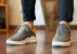 Sneakers Masculino Couro Cinza/Amarelo Barcelona Design | Brooklyn Bull - Imagem 2