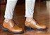 Sapato Derby Masculino Couro Whisky Barcelona Design - Imagem 2