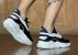 Tênis Sneakers Masculino Couro Preto Barcelona Design   Brooklyn Bull - Imagem 8