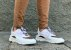 Tênis Sneakers Masculino Couro Branco com Lona Refletiva Caramelo Barcelona Design | Brooklyn Bull - Imagem 3