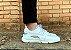 Tênis Sneakers Masculino Couro Branco com Lona Refletiva Cinza Barcelona Design | Brooklyn Bull - Imagem 3