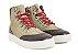 Tênis Sneaker Masculino Cano Alto Barcelona Design  - Imagem 2