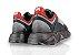 Tênis Sneakers Masculino Couro Marinho Estonado Barcelona Design   Robust Bull - Imagem 3