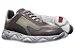 Tênis Sneakers Masculino Couro Vinho Estonado Barcelona Design | Robust Bull - Imagem 2