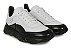 Tênis Sneakers Masculino Couro Branco/Preto Barcelona Design | Robust Bull - Imagem 2