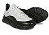 Tênis Sneakers Masculino Couro Branco/Preto Barcelona Design | Robust Bull - Imagem 4