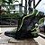 Tênis Sneakers Masculino Neon Couro Preto Barcelona Design | Robust Bull  - Imagem 2