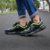 Tênis Sneakers Masculino Neon Couro Preto Barcelona Design | Robust Bull  - Imagem 4