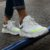 Tênis Sneakers Masculino Neon Couro Branco Barcelona Design | Robust Bull - Imagem 2