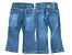 Calça feminina infantil jeans 1 ao 4  baby lola cuteness blt clube do doce - Imagem 1