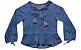 Bata feminina infantil jeans 4 ao 8 Barbicacho clube do doce - Imagem 1