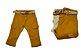 Calça masculina slim p ao g sarja bolsos clube do doce - Imagem 1