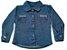 Camisa feminina bebê jeans clear p ao g clube do doce  - Imagem 1