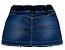 Saia feminina jeans infantil clube 4 ao 8 clube do doce   - Imagem 2