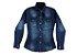 Camisa feminina jeans infantil 10 ao 16 clube do doce - Imagem 1