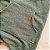 Jardineira Jeans Verde Militar Bolso Canguru - Imagem 2