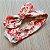 Conjunto Floral Laranja, Body Branco, Calça Legging e Faixa de Cabelo - Imagem 3