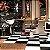 Poltrona Cadeira De Barbeiro Reclinável Harley Profissional Dompel - Preto Branco - Imagem 7