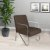 Poltrona/Cadeira Decorativa Sirena - Marrom - Imagem 1