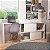 Mesa/Escrivaninha de Computador BC44 - Branco - Imagem 1