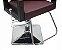 Poltrona Cadeira Reclinável P/ Barbeiro Maquiagem Salão - Vinho - Imagem 2