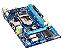 PLACA MAE 1155 S/V/R/GL GA-H61M-S1 DDR3 SEMI NOVO 3 MESES DE GARANTIA GIGABYTE - Imagem 1