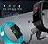 Relógio inteligente Pulseira Smartband Y5 Azul  - Imagem 4