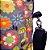 Bolsa Mochila Feminina Alça Removivel Tecido digital Em Patchwork  - Imagem 2
