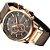 Relógio Curren 8291 Quartz Prova D`Agua pulseira em couro  - Imagem 2