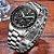 Relogio Lige Steel Black Masculino Aço Cronometro - Imagem 5