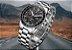 Relogio Lige Steel Black Masculino Aço Cronometro - Imagem 3