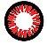 -SEM GRAU - Lente de contato VERMELHA com borda PRETA - ESPECIAL BT AMBER - Imagem 2