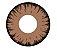 Lente de contato VAMPIRE MARROM com borda PRETA - BROWN VAMPIRE EFEITO MAIOR - Imagem 1