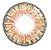 -SEM GRAU- Lente de contato NATURAL AVELÃ  FRESHTONE - HONEY GOLD YELLOW BROWN - Imagem 2