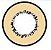 LENTE DE CONTATO MARROM - CASTANHO MOON ELEMENT - brown circle lens  - Imagem 1