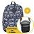Kit Mochila School Caveira + Shoulder Bag - Imagem 1