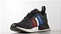 Tênis Adidas NMD R1 PK Primeknit Tricolor Grafite / Azul / Vermelho - Imagem 2