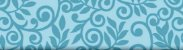 Tecido Tricoline Círculo Floral Azul -2101 - 50cmX1,46cm - Imagem 2