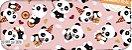 Tecido Círculo PANDAS HAPPY - 2078 - 0,50cmx1,46 Mts - Imagem 2