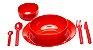 Kit Refeição Vermelho - Imagem 1