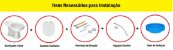 Caixa Acoplada Flox Eco System Branca Fiori - Imagem 4