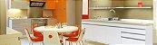 Gabinete de Cozinha Ferrara 195cm Branco Corso - Imagem 2
